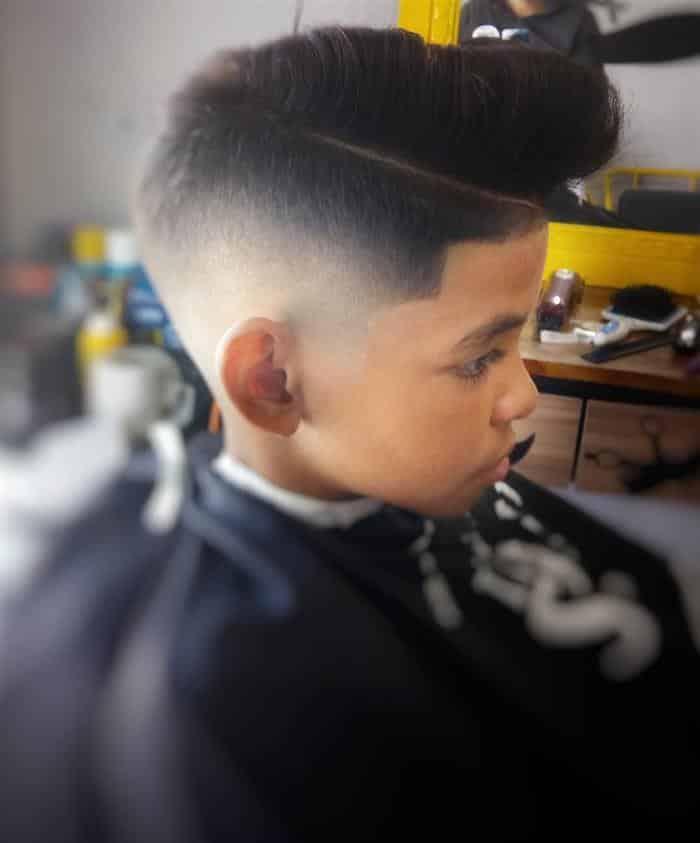 cortes de cabelo masculino infantil moderno
