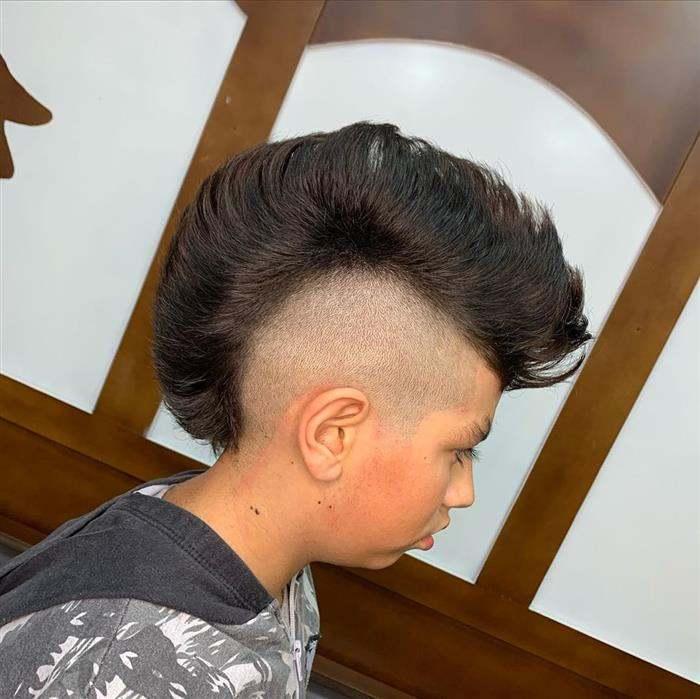 cortes de cabelo masculino infantil moicano