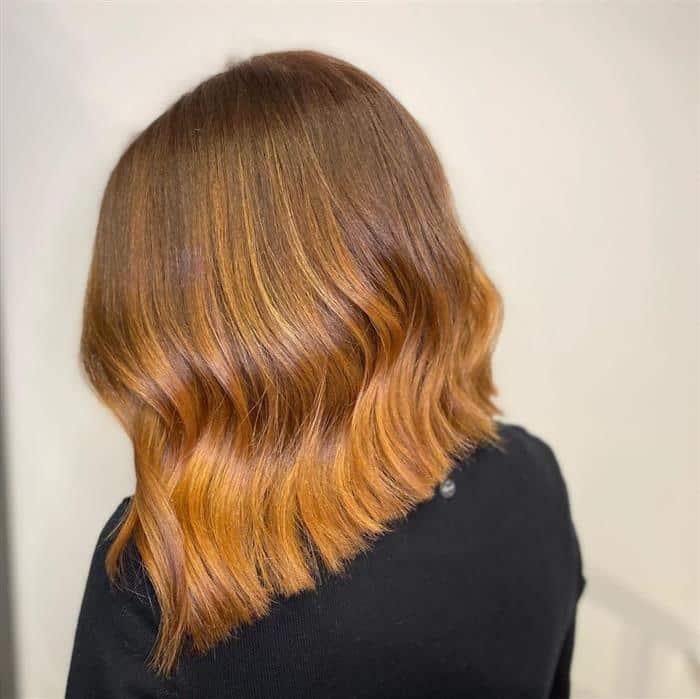 corte cabelo bob médio