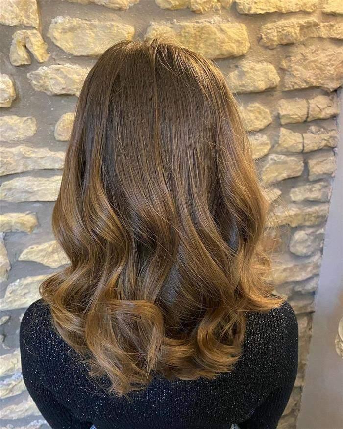 corte cabelo medio a longo