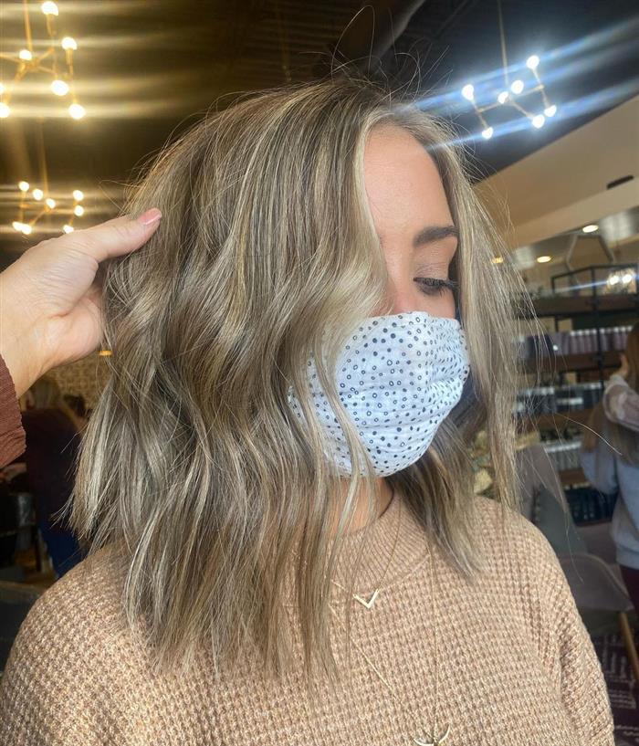corte cabelo medio atual