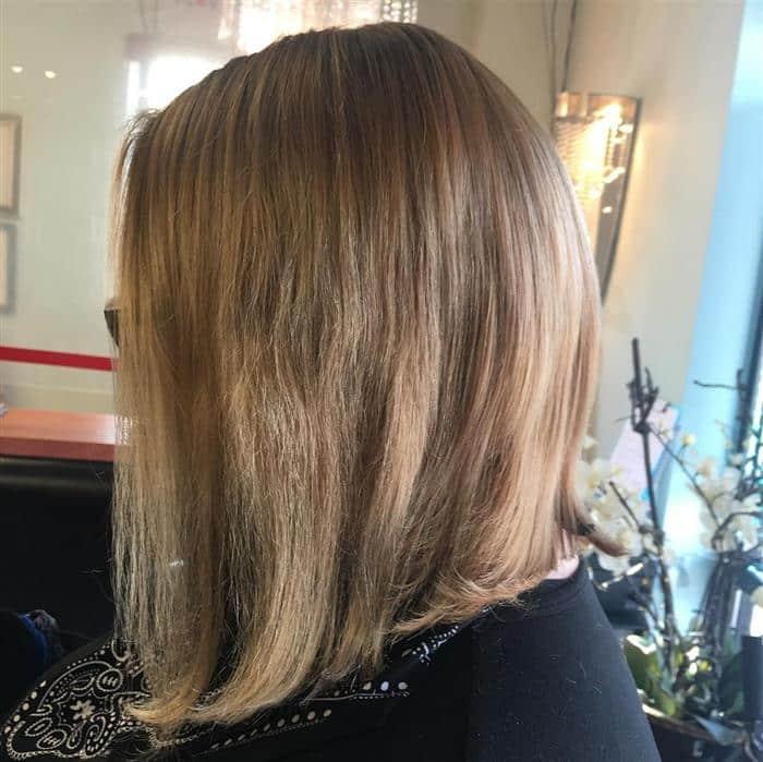 corte cabelo medio bob long