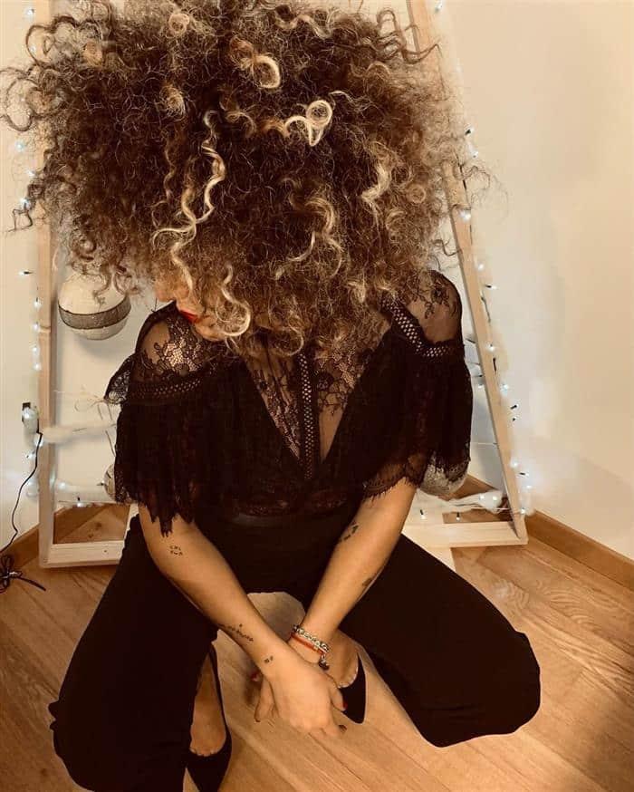 corte cabelo medio crespo