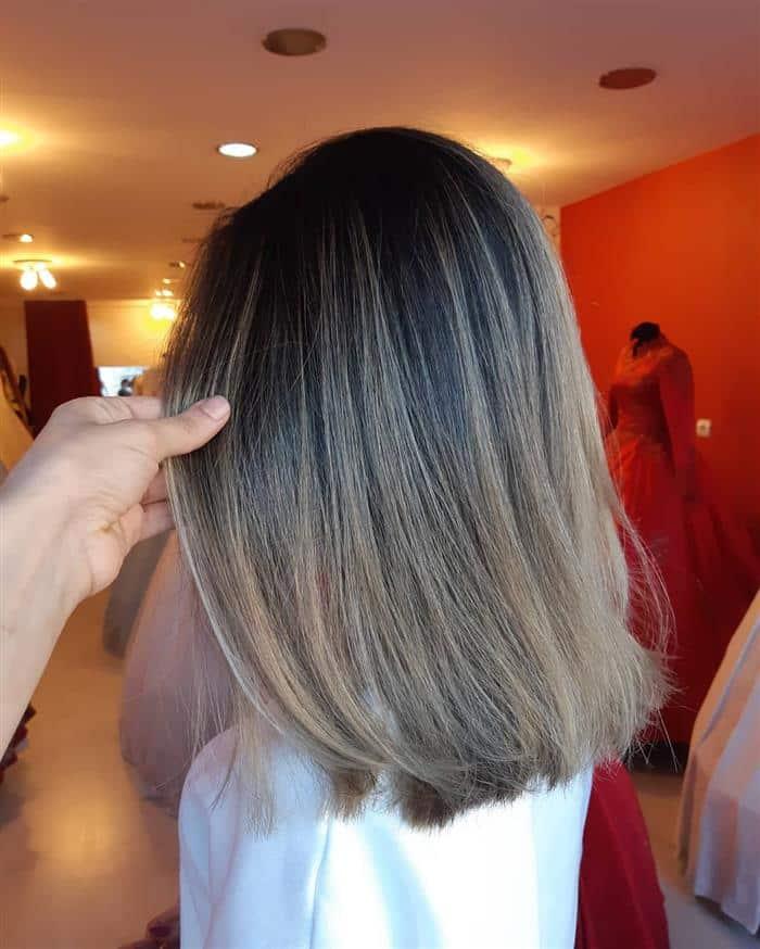 corte cabelo medio curto