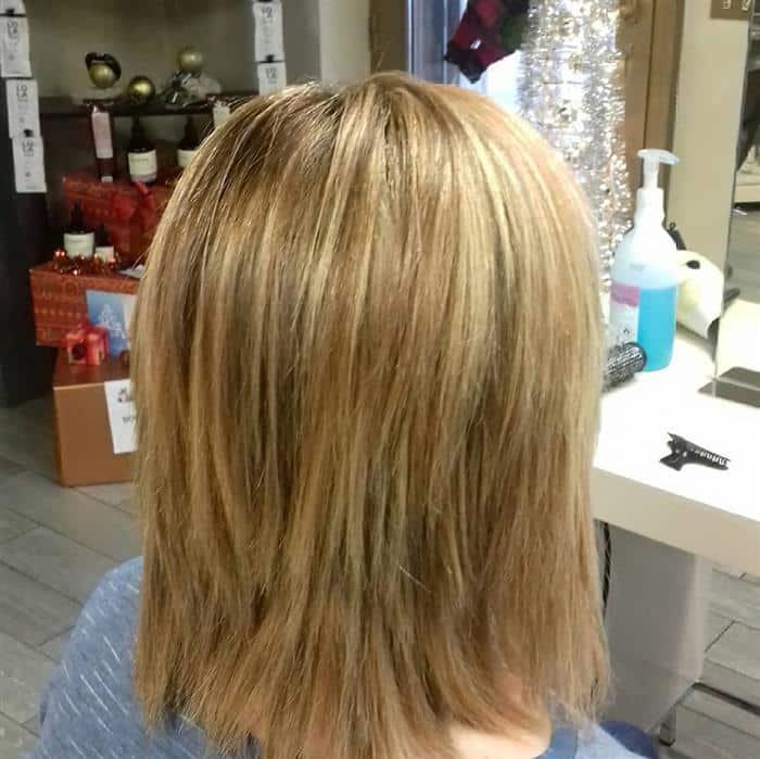 corte cabelo medio desfiado feminino