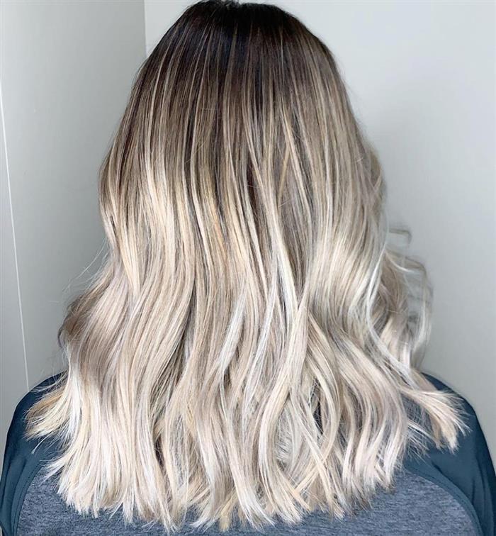 corte cabelo medio e fino