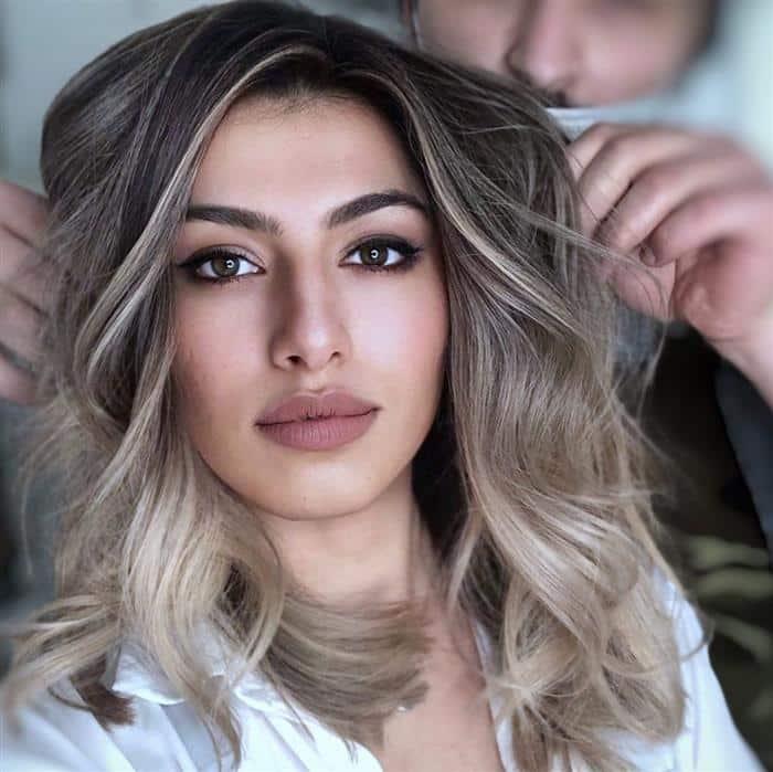 corte cabelo medio em camadas