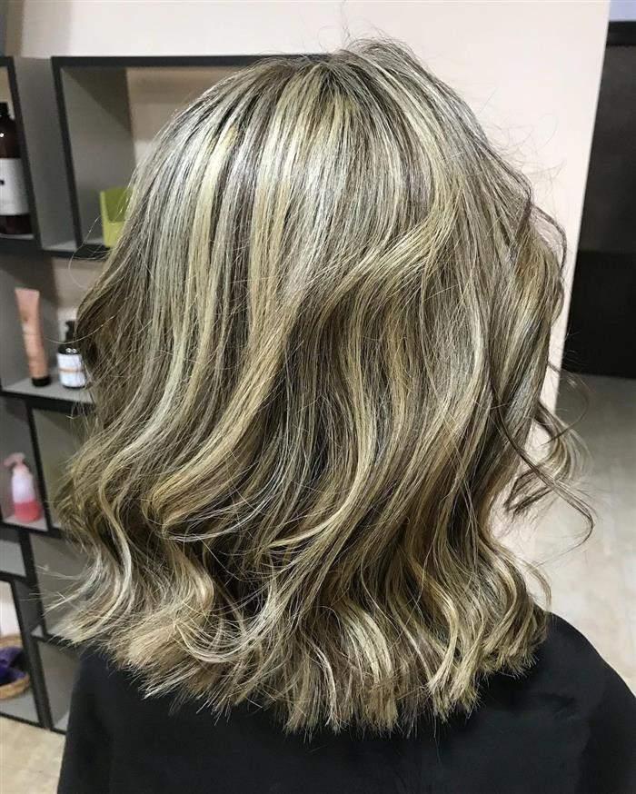 corte cabelo medio loiro