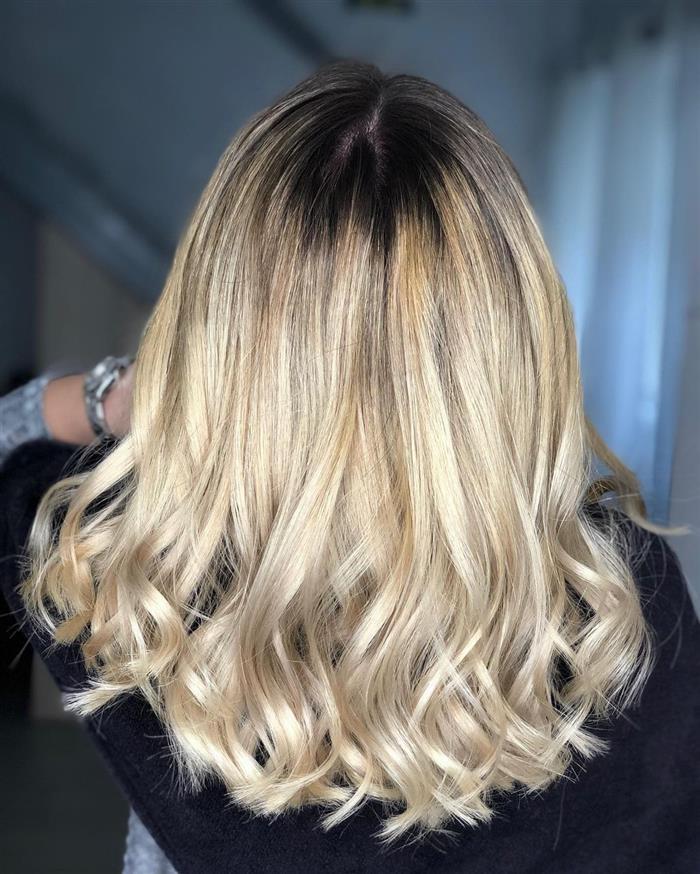 corte para cabelo medio