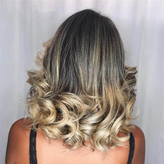 cortes cabelo medio desfiado feminino