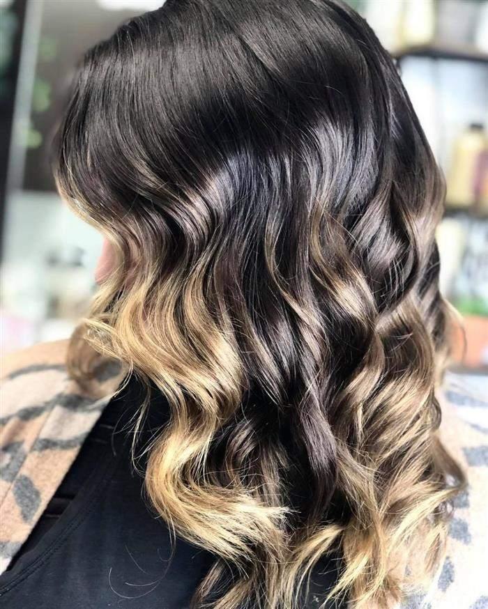 cor de cabelo conforme o tom da pele