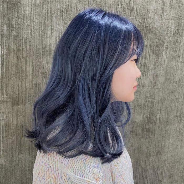 cores de cabelo com franja