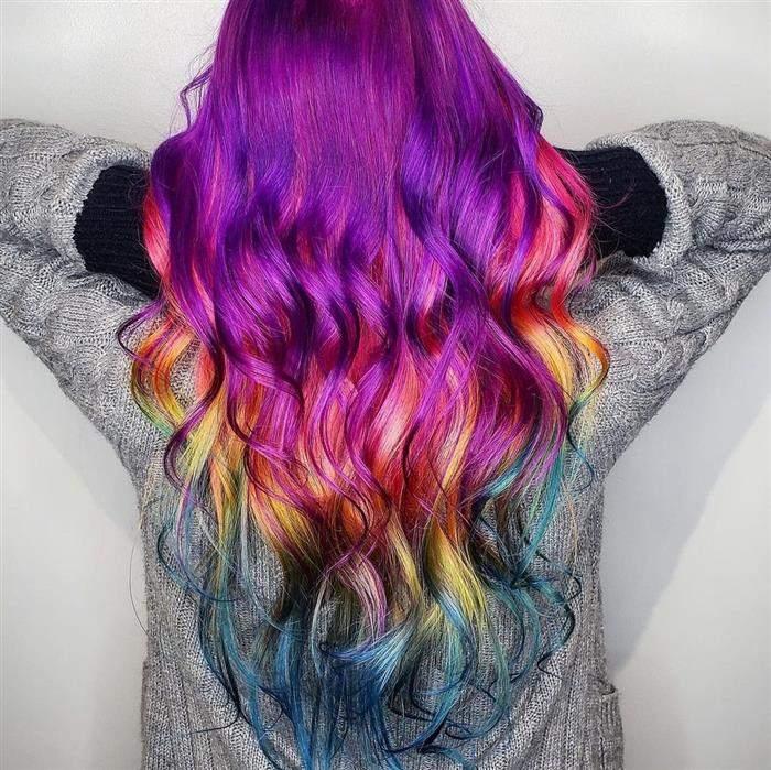 cores de cabelo da moda atual