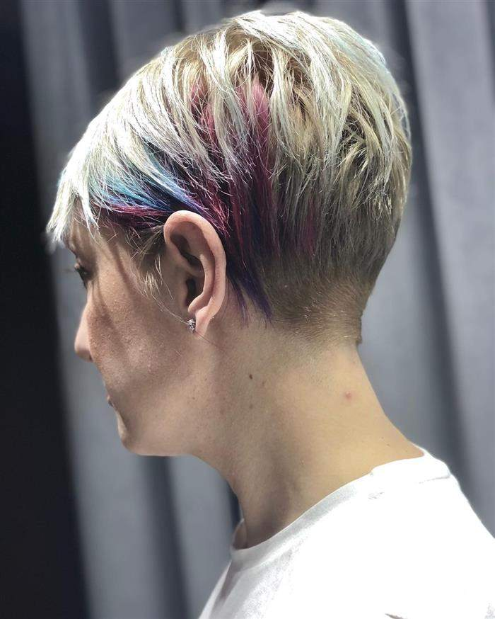 cores de cabelo do momento