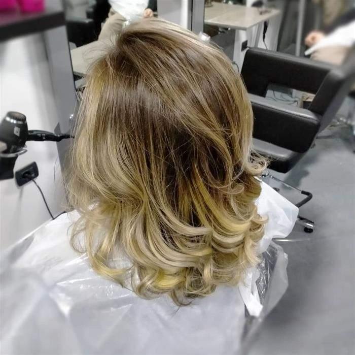 cores de cabelo em alta