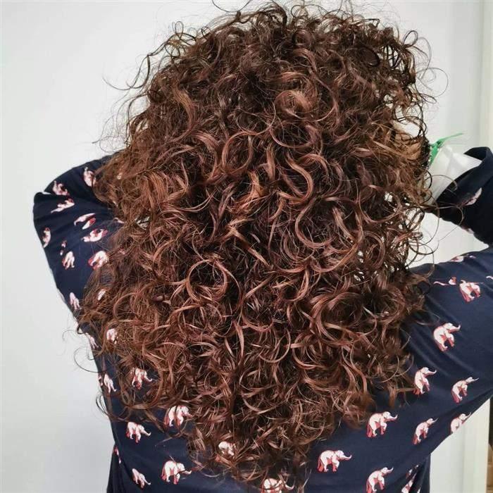 cores de cabelo na cor chocolate