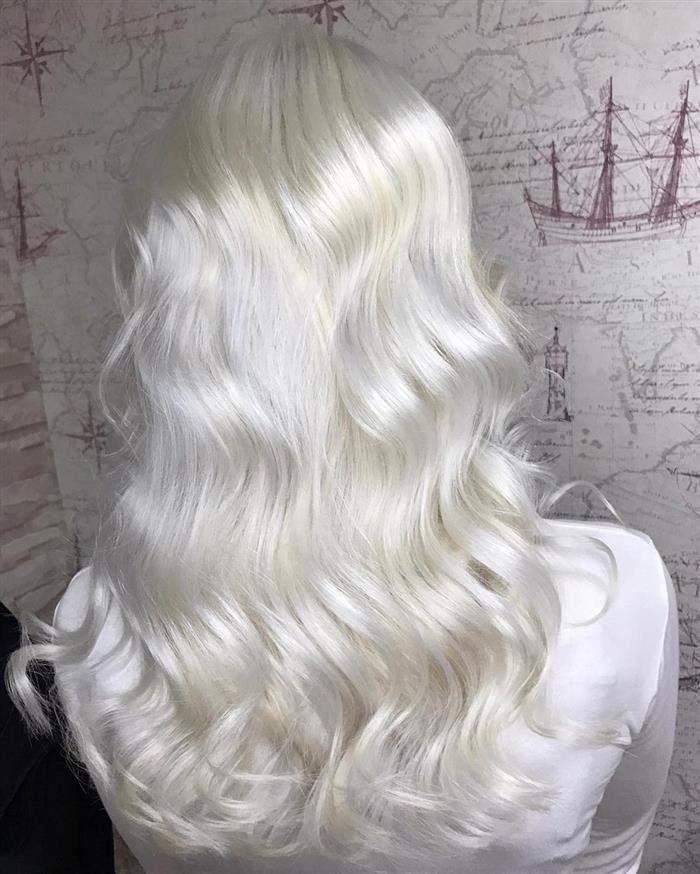 cores de cabelo no loiro