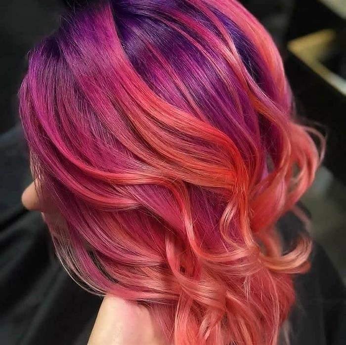 cores de cabelo no tom vermelho
