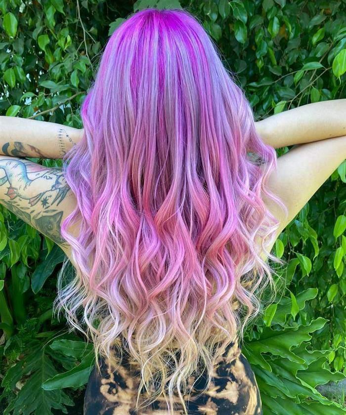 cores de cabelo que estão na moda
