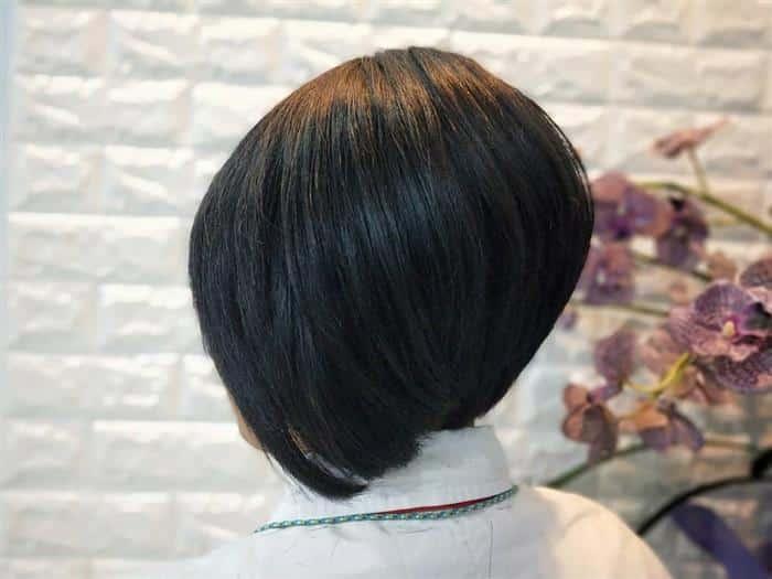 corte cabelo escuro