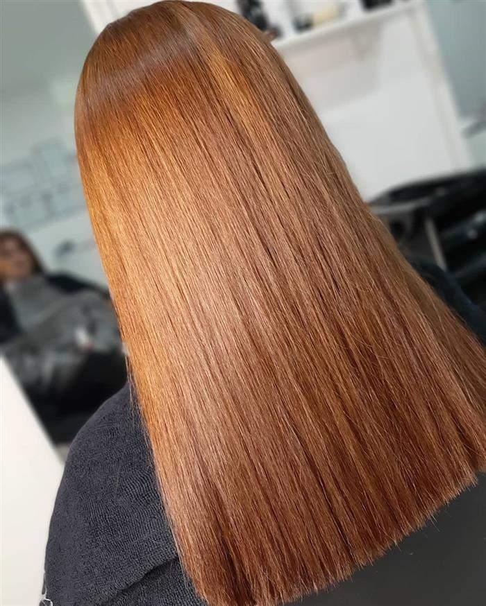tom de cabelo ruivo natural