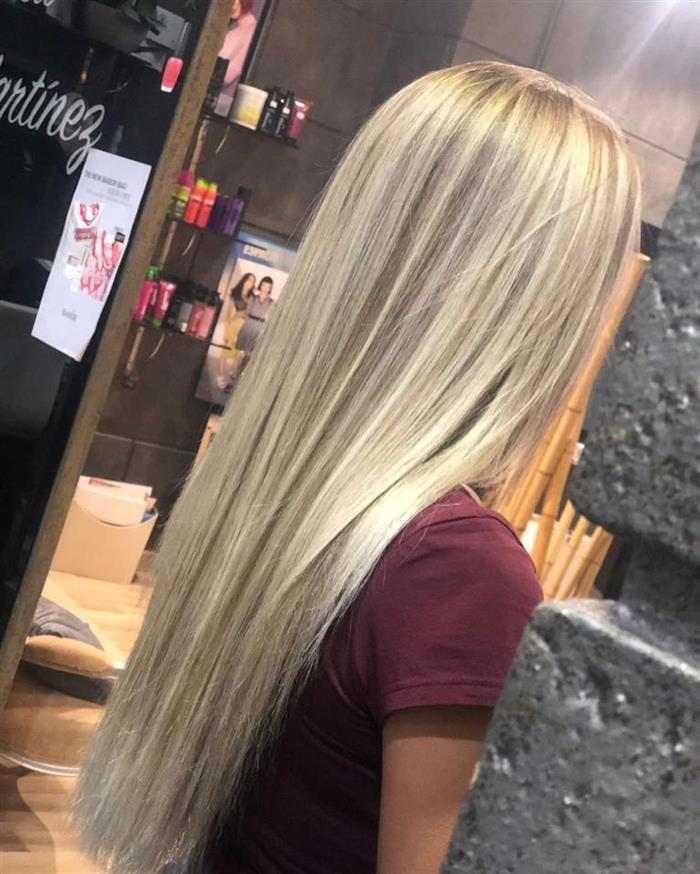 cabelo com mechas para loiro