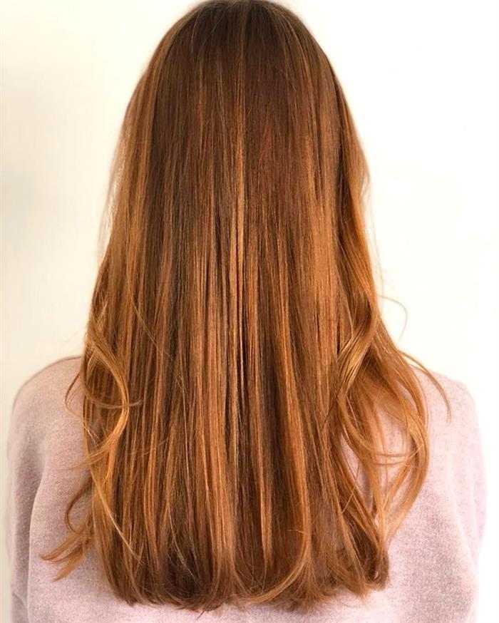 cabelo longo com mechas