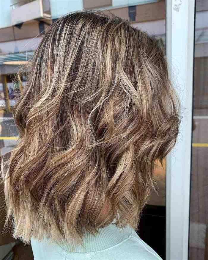 cabelos com mechas para morenas claras