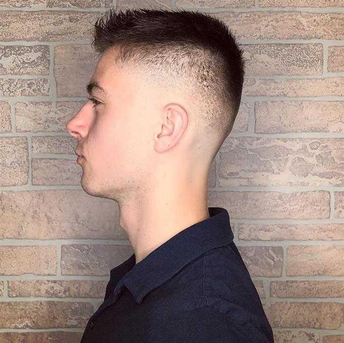 corte de cabelo militar disfarçado