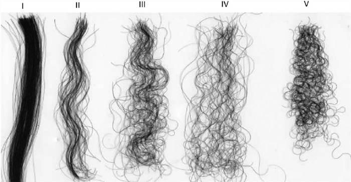 curvatura de cabelo