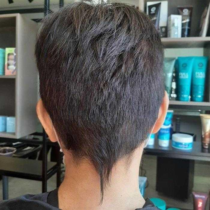 pixie corte de cabelo
