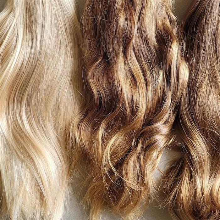 cabelo do loiro ao escuro