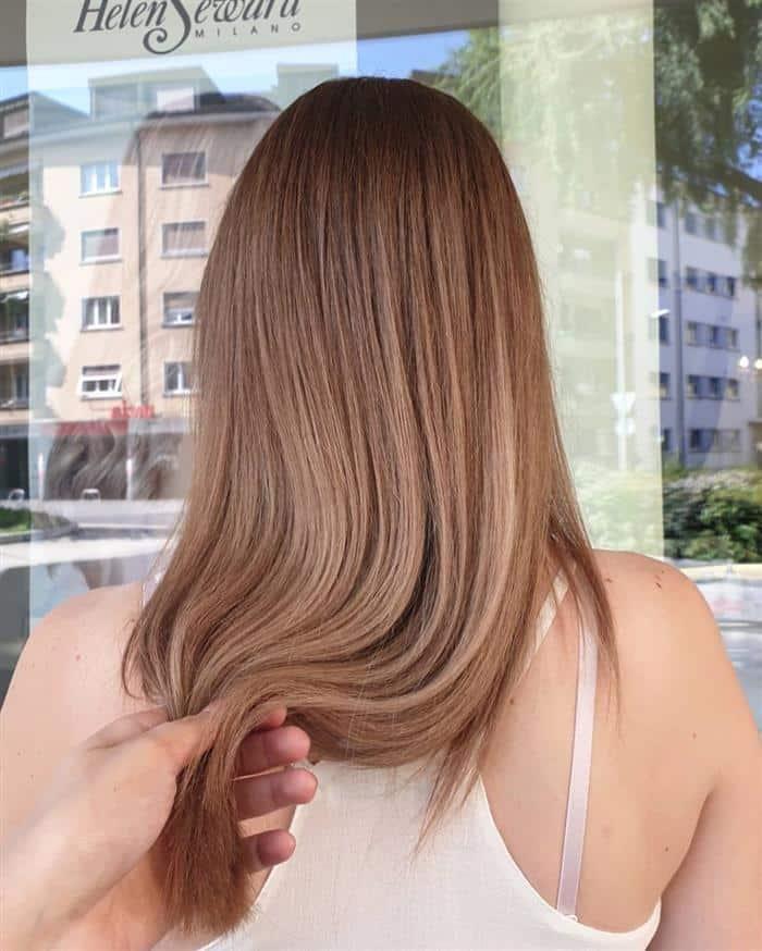 cabelo loiro escuro para loiro claro