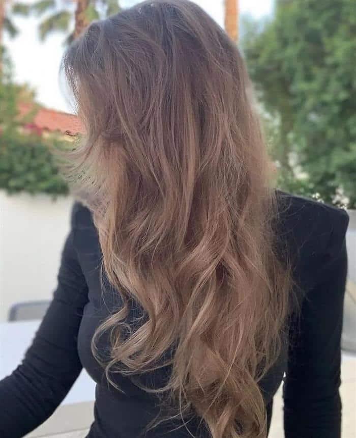 cabelo loiro para escuro