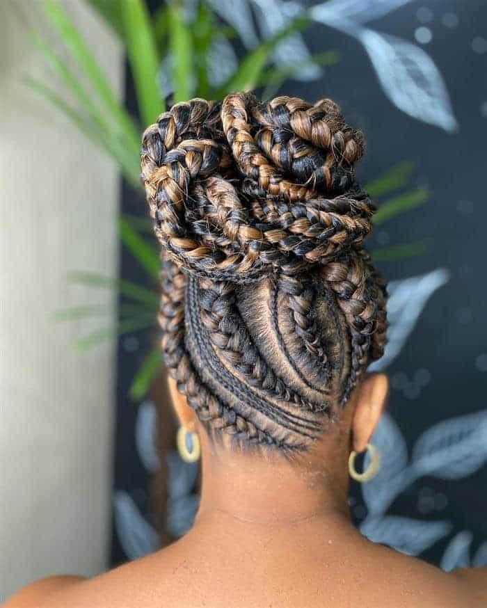 box braids diferentes
